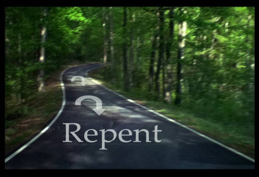Repent-turn-around-framed