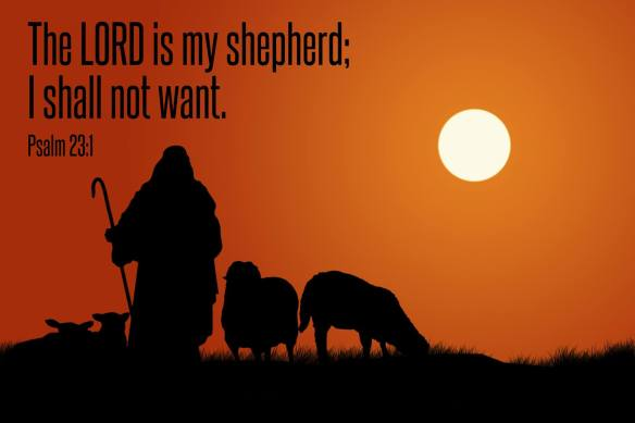 the lord is my shepherd pastorrudytlc