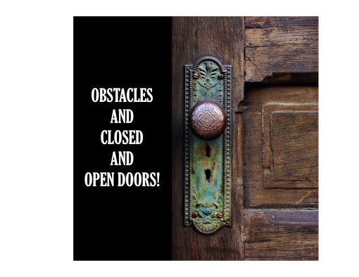 Open Closed Doors
