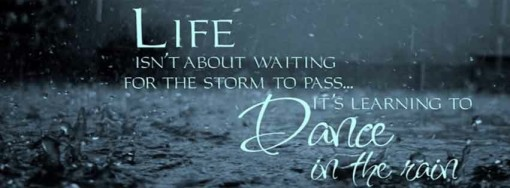 danicing in the Rain