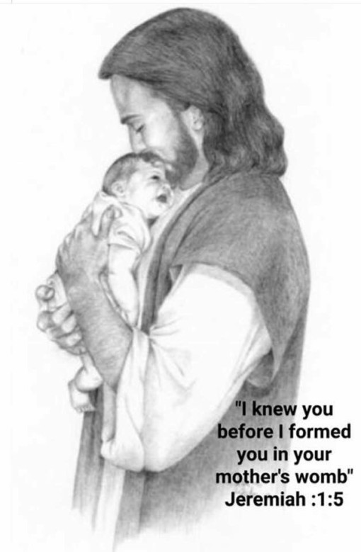 I knew you before I formed you in your mother's womb
